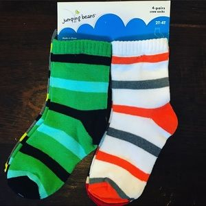 jumping beans Accessories - SOLD!   New socks - 4 pack